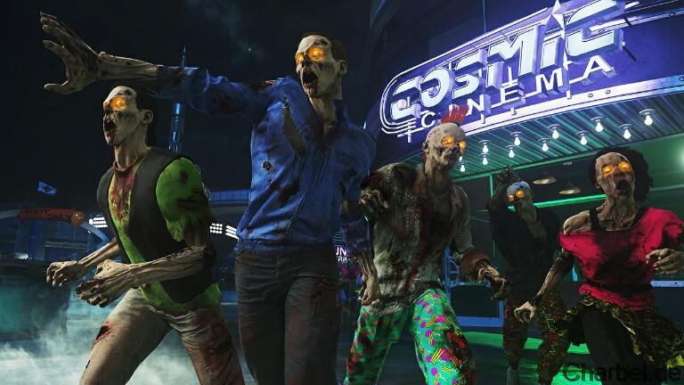Zombies in Spaceland Easter Egg
